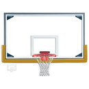 Gared Sports Gared LXP4200 Competition Steel Frame Short Glass Backboard