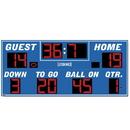 Electro - Mech Outdoor Football Scoreboard Model LX3340