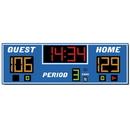 Electro - Mech Indoor Basketball Scoreboard Model LX2350