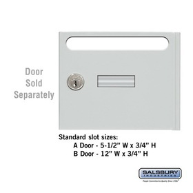 Salsbury Industries Door Slot - for Cell Phone Storage Locker Door