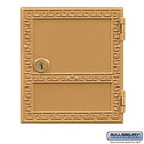 Salsbury Industries 2152 Replacement Door and Lock - #2 Size - for Americana Mailbox - with (2) Keys
