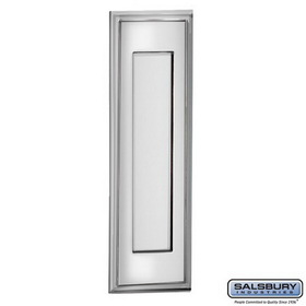 Salsbury Industries 4085C Mail Slot - Vertical - Chrome Finish