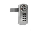 Salsbury 77795SLV Resettable Combination Lock - Factory Installed on Metal Locker Door - Silver