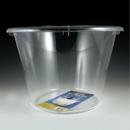 Maryland Plastics MPI89079 12 qt. Sovereign Jumbo Ice Bucket, Clear
