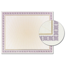 Great Papers 963023 Westminster Purple Foil Certificate