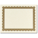 Great Papers 934025 Metallic Gold Certificate - 25 Sheets/Pack