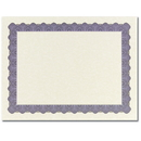 Great Papers 934425 Metallic Blue Certificate - 25 Sheets/Pack