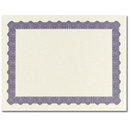 Great Papers 934400 Metallic Blue Certificate - 100 Sheets/Pack