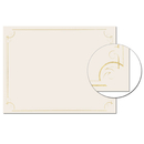 Great Papers 2011859 Golden Scroll Frame Foil Certificate