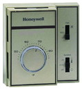 Honeywell T6069B4018 120-277V Medium Duty Precision Heating/Cooling Fan Coil T-Stat Range 44-86F. Less Thermometer, Tan Color Replaces T694D2009