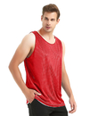 TOPTIE Reversible Basketball Jerseys, Mesh Tank, M01