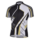 TopTie Men's Short Sleeve Race Cut Cycling Jersey With Sublimated Print