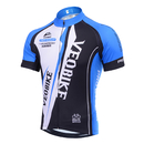 TopTie Men's Race Cut Short-Sleeve Biking Cycling Jersey
