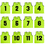 TopTie Numbered Practice Vest - Pinnies, One Dozen