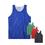 TopTie 4 Pack Reversible Basketball Jerseys, Lacrosse Jersey, Mesh Tank