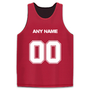 TopTie Custom Reversible Basketball Jerseys (Any Name/Number), Lacrosse Jersey