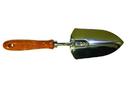 Midwest Rake 41033 Seymour (WP-5400) Hand Trowel, Chrome Plated Head, Wood Handle