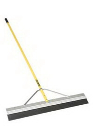 """Midwest Rake 76186 72"""" 3"""" Round Edge Tapered Seal Coat Squeegee, 82"""" OS Yellow Aluminum Handles,Framing & Decking Tools,Hand Tools, Price/each"""