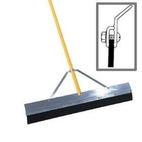 "Midwest Rake 76324 24"" 3"" Square Edge Seal Coat Squeegee, 66"" OS Yellow Aluminum Handles,Framing & Decking Tools,Hand Tools, Price/each"