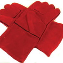 Midwest Rake 98030 Leather Hearth Safety Gloves, 14