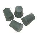 Roosebeck Rubber Stoppers, #2, Set of 4, Halfsize