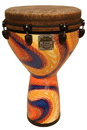 Remo Mondo Djembe 14-by-25-Inch - Serpentine