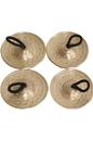 Mid-East Finger Cymbals, Cast, Engraved, 4.5cm