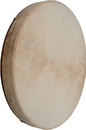 DOBANI Pretuned Goatskin Head Red Cedar Wood Frame Drum with Beater 18-by-2-Inch