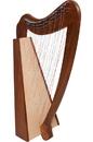 Mid-East Caitlin Harp TM, Cross Strung Harp