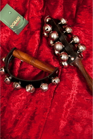 DOBANI Hand Jingle Bells on Leather