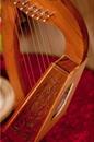 Roosebeck Lily Harp TM, 8 Strings, Knotwork