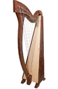 Mid-East Meghan Harp TM, 36 Strings