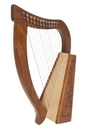 Mid-East Baby Harp TM, Birch, 12 Strings