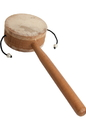 DOBANI Monkey Drum with Handle, 3.25