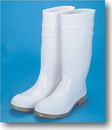 Mutual Industries 16&Quot; Pvc Sock Boot White