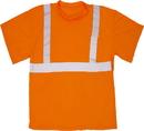 Mutual Industries Ansi Class 2 Orange Mesh Tee Shirt
