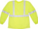 Mutual Industries Ansi Class 3 Long Sleeve Lime Tee Shirt