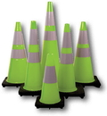 Mutual Industries Traffic Cones - Lime