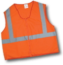 Mutual Industries Ansi Class 2 Solid Non Durable Flame Retardant Vest