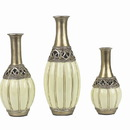 Marilena Imports WF15 - D'Lusso Designs Juliana Collection Three Vase Set