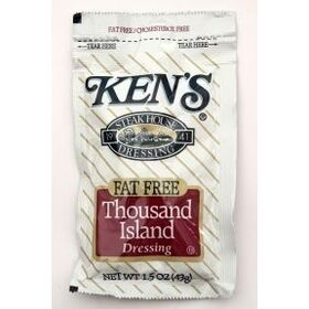 Kens Fat Free Thousand Island Dressing, Price/Case