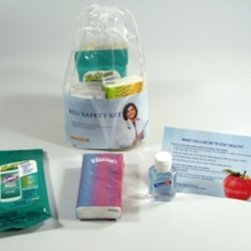 Flu Safety Kit - Sanell, Price/each