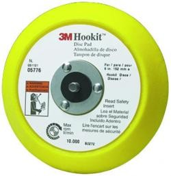 "3M 5776 6"" Hookit Disc Pad, Price/EACH"