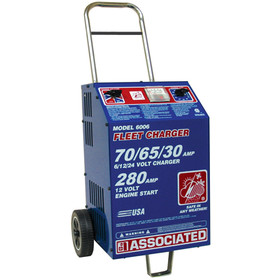 Associated Equipment 6006 Fast Charger 6/12/24V, Price/EACH