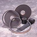 Air Filtration CT9 Rubber Wiper Strips (2Pcs) 3X1/8X5