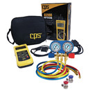 Cps Products CSAM134BUQ-AS Manifld Gauge Kit W/Auto Scanner