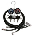 Cps Products Black & Chrome 2 Valve Refrig 6' Hose