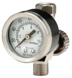 DEVILBISS 180006 Hav501 Air Adj Valve W/Gauge, Price/EACH