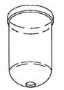 Devilbiss Haf8 Plastic Bowl 100Cfm