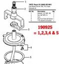 Devilbiss Kk5007 Cup Repair Kit (Tgc-Tlc)